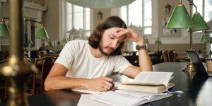 Angst vor Prüfungen können eine grosse Belastung werden